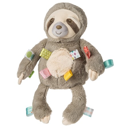 Taggies Molasses Sloth Soft Toy 12