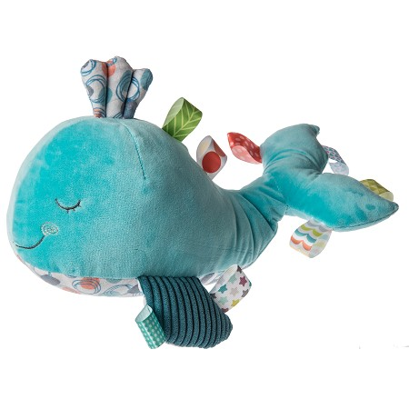 Taggies Sleepy Seas Whale Plush