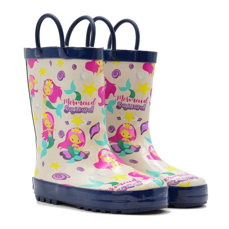 Rain Boots | Mermaid