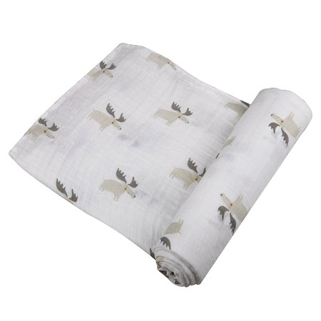Cotton Muslin Swaddle | Mister Moose