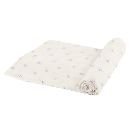 Bamboo Muslin Swaddle | Watercolor Star