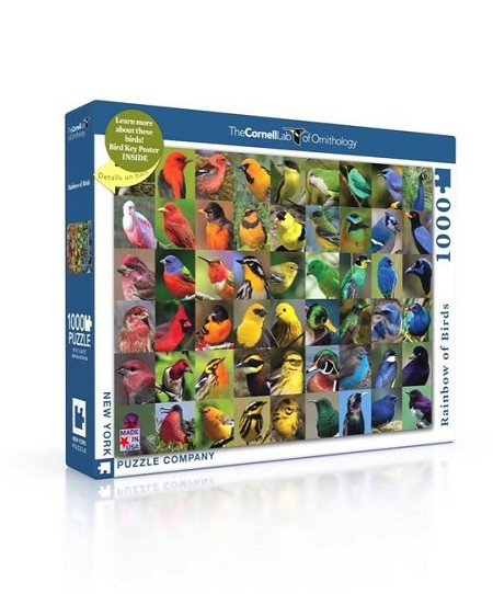 Rainbow of Birds 1000 pc puzzle