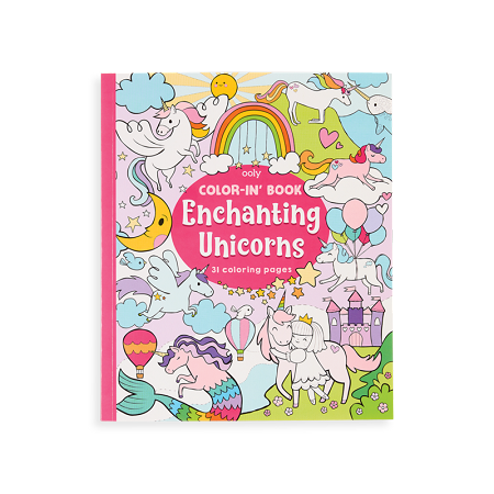 Coloring Book | Enchanting Unicorns