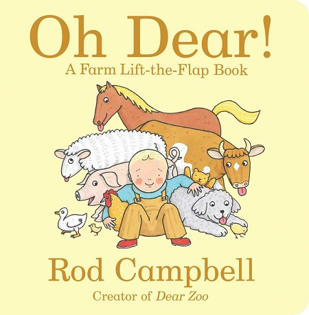 Oh Dear! Lift -the-Flap book