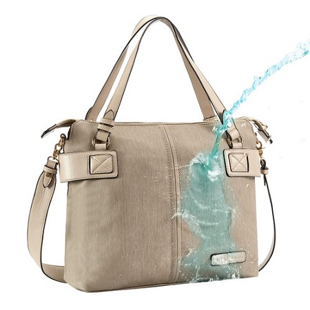 Lansing Vegan Leather Tote Diaper Bag