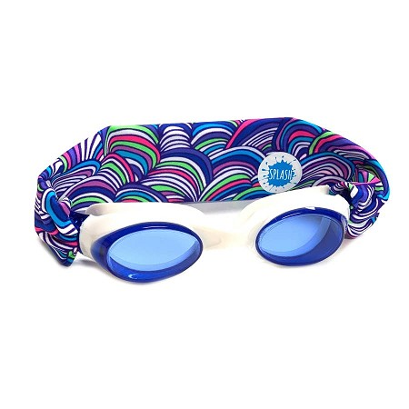 Splash Swim Goggles | Over the Rainbow