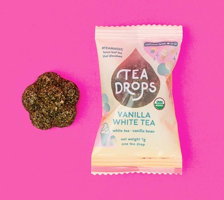 Tea Drops Single | Vanilla White Tea