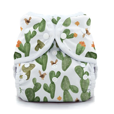 Thirsties Snap Duo Wrap | Cactus Garden