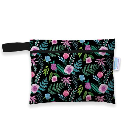 Thirsties Mini Wet Bag | Floribunda