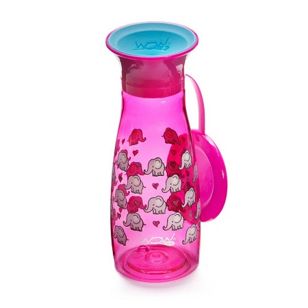 WOW Cup Mini 12 oz | Pink Elephants