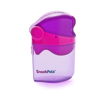 WOW SnackPals Snack Dispenser | Pink/Purple